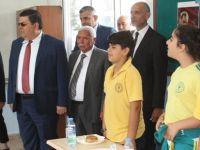 Çavuşoğlu ve Berova Akdoğan İlkokulu'nda süt haftası etkinliğine katıldı