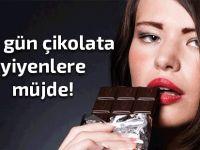 Bitter çikolatanın bir faydası daha...