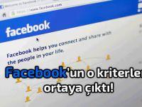 Facebook'un bazı kural ve kriterleri ilk kez ortaya çıktı!