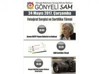 Gönyeli SAM'da fotoğraf sergisi ve sertifika töreni