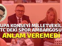 """""""Kıbrıs Türk sporunun dünyadan izole edilmesine artık bir son verilmeli"""""""
