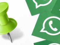 WhatsApp'tan sohbet sabitleme özelliği!
