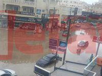Yarım saatlik yağış Mağusa'yı felç etti!