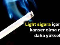 Light sigara içenlerin, akciğer kanseri olma ihtimali daha fazla