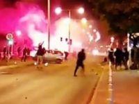 AEL-Apollona maçı öncesinde taraftarlar birbirine girdi