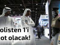 Dubai emniyet teşkilatını robotlara devredecek
