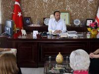 Yeni yönetim, başkan Sadıkoğlu'nu ziyaret etti