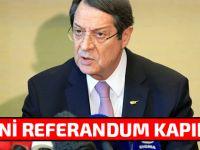 Kıbrıslı Rum lider Anastasiadis'ten  flaş açıklama