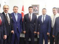 Başbakan Özgürgün, KÜB heyetini kabul etti