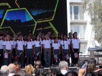 Bayraktar Ortaokulu yeni binasının açılışı törenle yapıldı