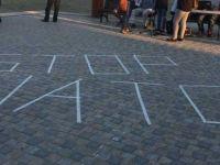 Larnaka'da NATO karşıtı eylem yapıldı