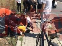 Son Dakika: Minibüsün çarptığı bisikletli ağır yaralandı!