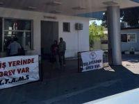 Girne Dr. Akçiçek Hastanesi grevde!