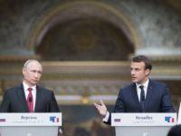 Macron-Putin basın açıklaması