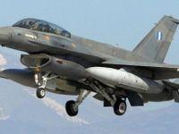 Yunanistan'a ait savaş uçağı düştü