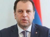 Ermenistan Savunma Bakanı Vigen Sarkisyan Güney Kıbrıs'ta