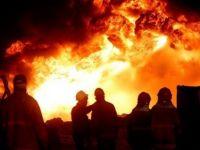 Kerkük'te petrol sahasında patlama