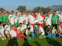 """""""Hayatı Paylaşmak İçin Engel Yok"""" sloganıyla futbol maçı düzenlendi"""