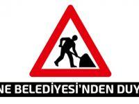 O yollarda yarın ve pazar günü asfalt çalışması var!