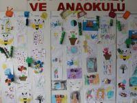 Atatürk Kreş ve Anaokulu öğrencilerinin sergisi Arter tarafından açıldı