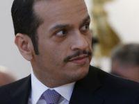 Katar Dışişleri Bakanı Al Sani, Paris'te