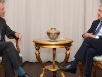 Cumhurbaşkanı Akıncı İngiliz Yüksek Komiseri Kıdd'i kabul etti