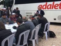 """CHP MYK'yı Gerede'de yaptı; """"Git evinde otur"""" diyorlar, oturmayacağız, tehdide pabuç bırakmayacağız"""