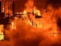 İsveç'te sığınmacıların kaldığı binada yangın