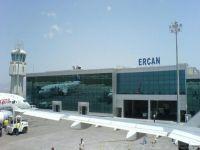 Sendikal Platform Ercan Havalimanı'nda eylem yaptı