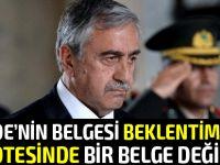 Cumhurbaşkanı Akıncı, TC Cumhurbaşkanı Erdoğan ile görüşecek
