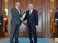 Cumhurbaşkanı Akıncı, TC Başbakanı Yıldırım ile görüştü