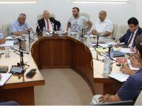 Trafik güvenliğiyle ilgili komite davetlileri dinledi