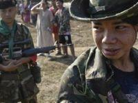 Myanmar'da 67 çocuk asker ordudan çıkarıldı