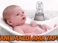 Doktor çift bebeklerine bez kullandırmadan tuvalet eğitimi verdi