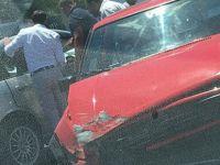 Mağusa'da kaza: 3 araç birbirine girdi