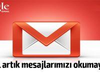 Artık Gmail'de görülen reklamlar için kullanıcının e-postaları incelenmeyecek.