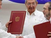Kolombiya hükümeti ve FARC arasında imzalanan barış anlaşması