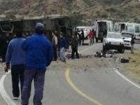 Arjantin'de otobüs kazasında ilk belirlemelere göre 15 kişi öldü