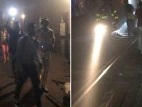 New York'ta metro raydan çıktı: 3 yaralı