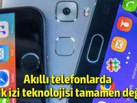 Akıllı telefonunuzun ekranı dev bir parmak izi okuyucusuna dönüşüyor!