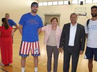 """""""Barış İçin Basketbol"""" etkinliği Gazimağusa Belediyesi'nin ev sahipliğinde yapıldı"""