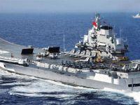 Çin'in ilk uçak gemisi Liaoning Hong Kong'da