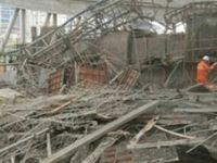 Çin'de inşaat çöktü: 8 kişi hayatını kaybetti