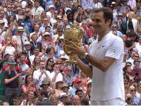 Wimbledon'da ekselansları 8. Şampiyonluğa ulaştı