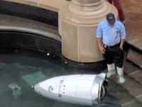 Güvenlik robotu intihar etti!