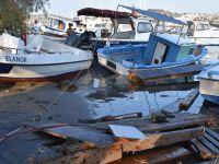 """Ege Denizi'ndeki deprem: """"10 santimetre tsunami dalgası oluştu"""""""