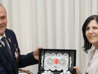 Siber, Trabzon'dan gelen muharip gazileri kabul etti