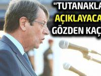 """Anastasiadis, Eide'yi """"yalan söylemekle"""" suçladı"""