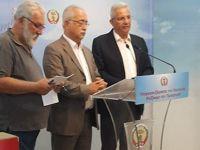 İzcan ile Kiprianu ortak basın toplantısı düzenledi