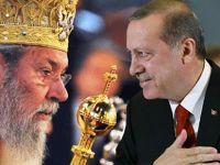 """"""" II. Hrisostomos'un açıklamaları Erdoğan ve Çavuşoğlu ile özdeşleşiyor"""""""